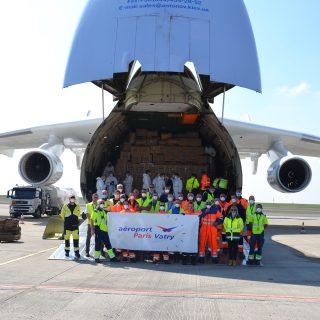 L'aéroport Paris-Vatry accueille le mytique Antonov AN-255 «Mriya»