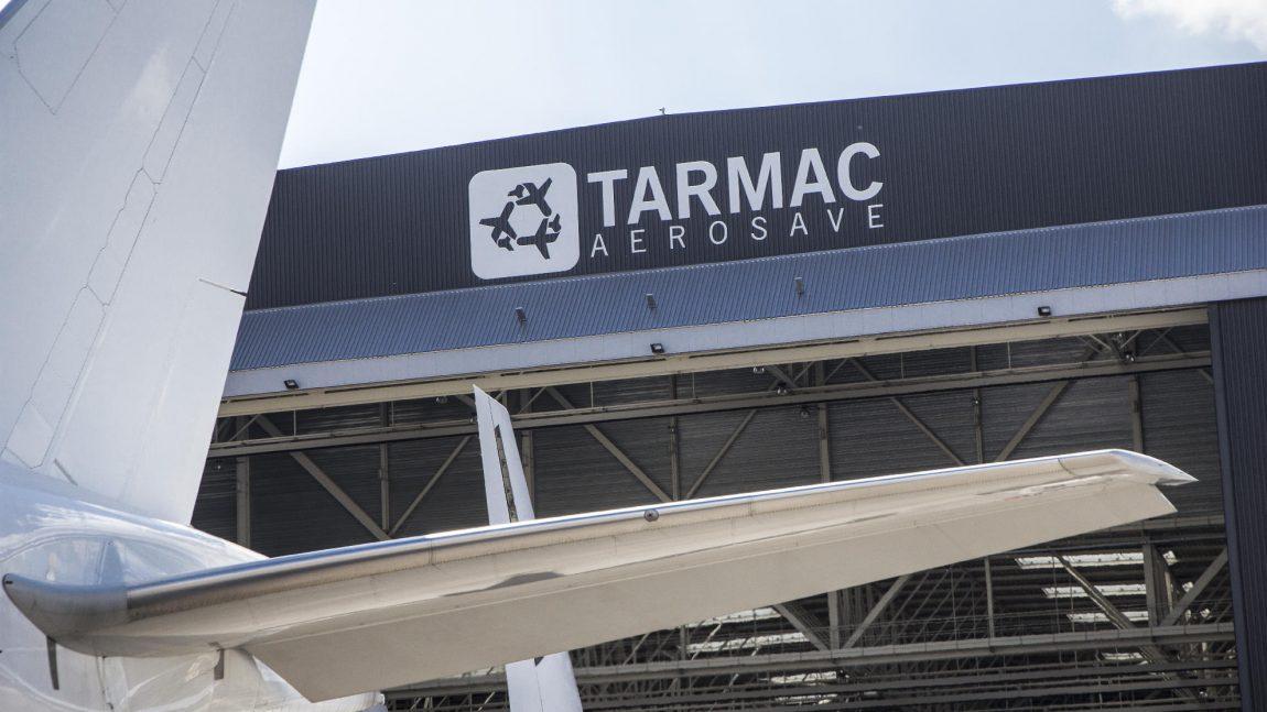 Arrivée Tarmac AéroSave