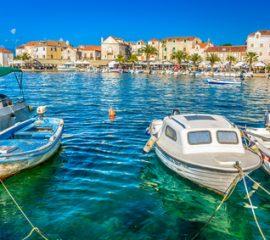 Croatie vacances port de peche