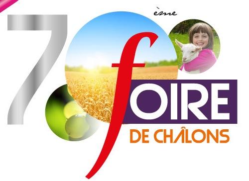 Retrouvez-nous à la Foire de Chalons en Champagne