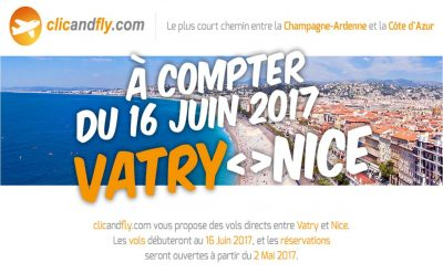 Réouverture de la Ligne Paris-Vatry / Nice