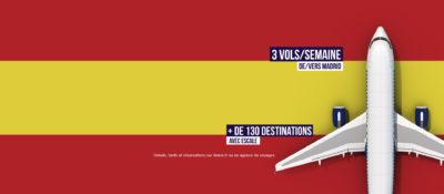 Envolez-vous vers Madrid et au delà